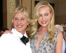 Ellen DeGeneres a favor de las uniones gays.