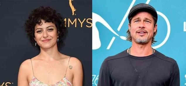 "Alia Shawkat habló sobre su ""romance"" con Brad Pitt"