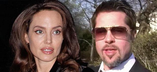 Angelina Jolie denuncia a Brad Pitt