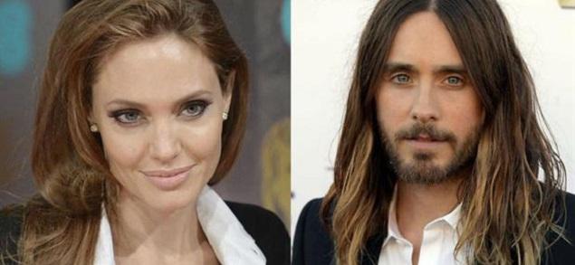 Angelina Jolie y Jared Leto la nueva pareja de Hollywood?