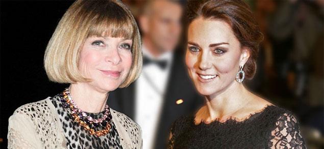 Anna Wintour quiere  a la realeza en Vogue