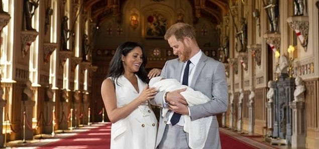 Archie Harrison es el nombre del Baby Sussex