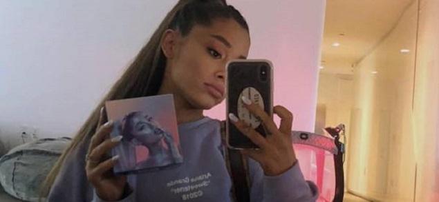 Ariana Grande y una sospechosa cuna