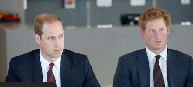 Aumenta la distancia entre William y Harry