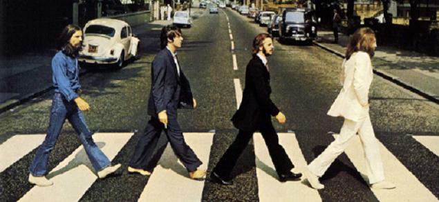 Beatles, hace 50 años se tomaba la legendaria foto en Abbey Road