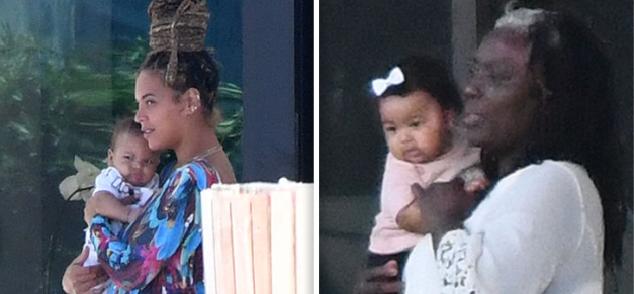 Beyoncé: después de cinco meses llegan las primeras fotos de los gemelos