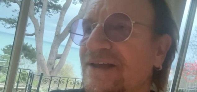 Bono dedica una canción inédita a los médicos que están en primera línea contra el coronavirus