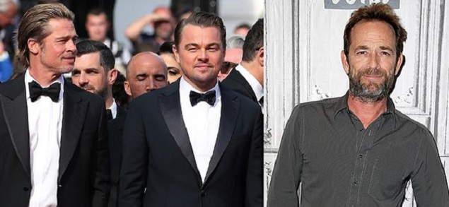 Brad Pitt y Leonardo DiCaprio honraron a Luke Perry con hermosas palabras