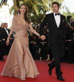 Brad Pitt y Angelina Jolie en Cannes.
