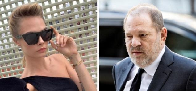 Cara Delevingne arremete contra Harvey Weinstein