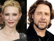Russell Crowe y Cate Blanchett en Robin Hood.