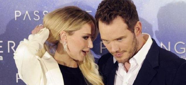 Chris Pratt y Anna Faris se separaron por culpa de Jennifer Lawrence?
