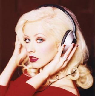 Las polémicas fotos de Christina Aguilera.
