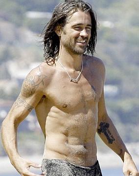 Colin Farrell: piel y hueso.