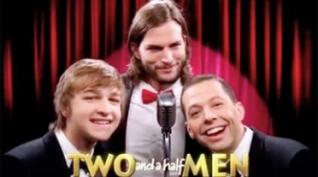 """Cómo fue el estreno de """"Dos hombres y medio"""""""
