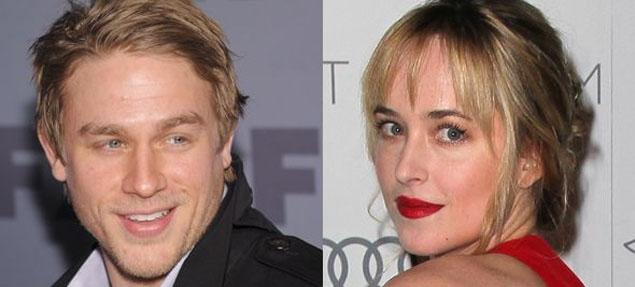 Dakota Johnson y Charlie Hunnam, la pareja más comentada