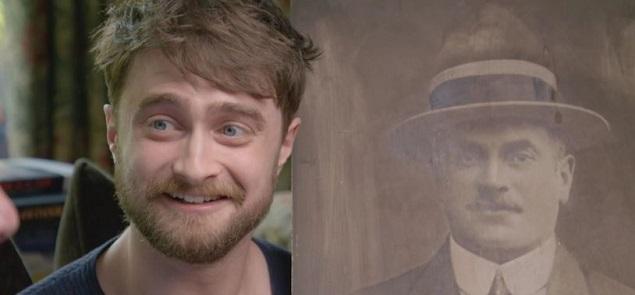 Daniel Radcliffe descubre el pasado de sus antepasados y se conmueve en televisión