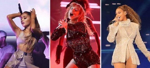 De Beyoncé a Ariana Grande, las estrellas se fugan de los Grammys... excepto Lady Gaga