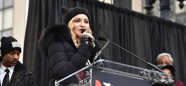 De Madonna a Miley Cyrus, las estrella marcharon contra Trump