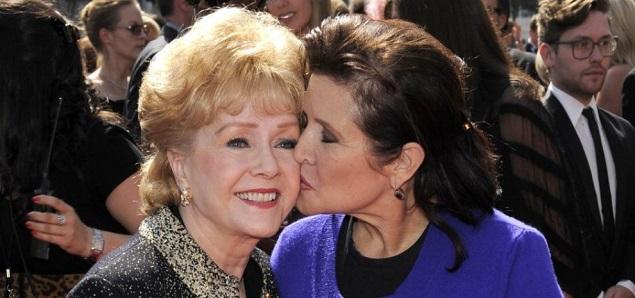 Debbie Reynolds y Carrie Fisher tendrán un funeral conjunto y privado