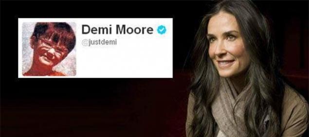 Demi Moore y su cambio en la internet