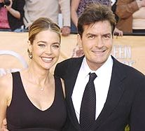 El divorcio de Denise Richards y Charlie Sheen.