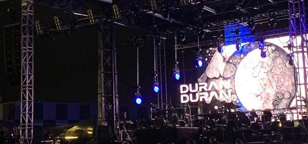 Duran Duran realizó un show en la NASA por el aniversario del alunizaje