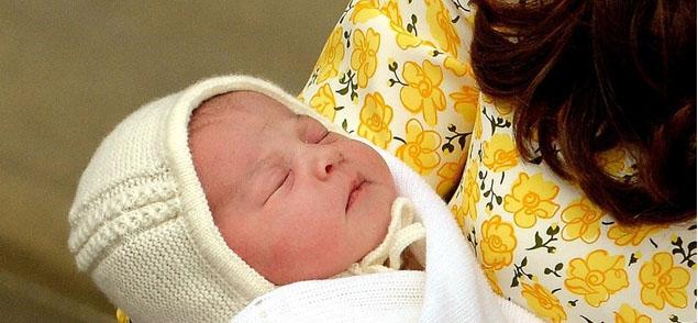 El bebé real ya tiene nombre: Charlotte Elizabeth Diana