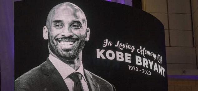 El íntimo entierro de Kobe Bryant y su hija Gianna