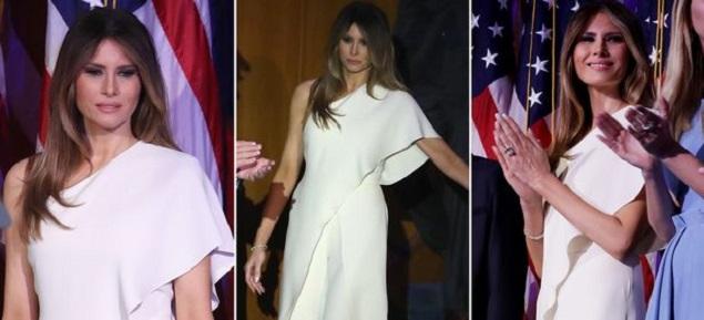 El look de Melania Trump para el Inauguration Day: Ralph Lauren y Karl Lagerfeld dijeron que sí