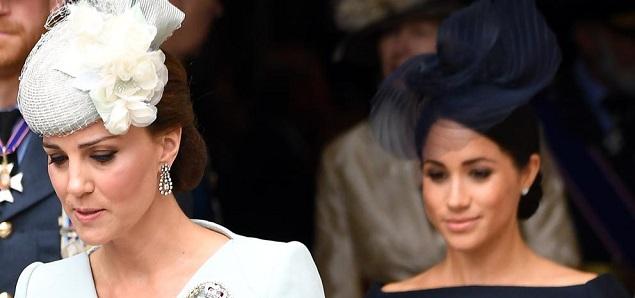 El motivo de la enemistad secreta entre Kate Middleton y Meghan Markle