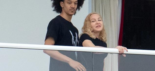 El nuevo acompañante de Madonna