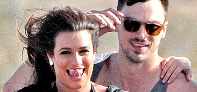El nuevo novio de Lea Michele