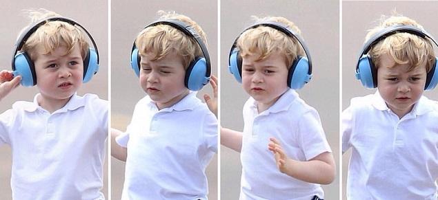 El pasatiempo del príncipe George