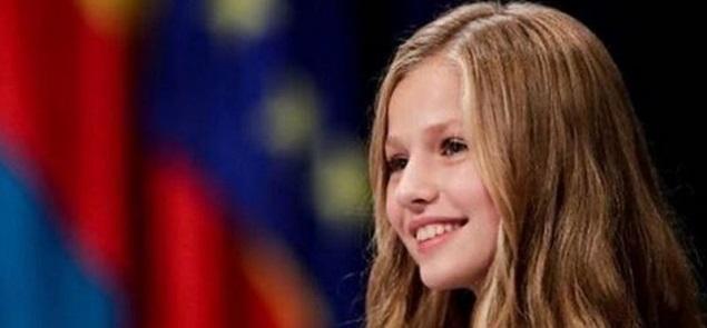 El primer discurso de la princesa Leonor, futura reina de España
