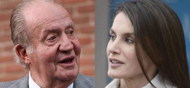 El Rey Juan Carlos contra Letizia?