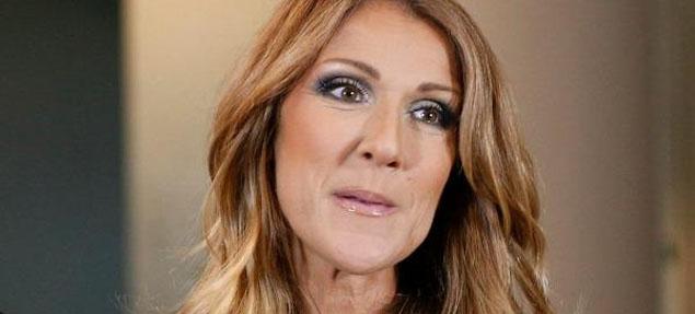 El triste momento de Celine Dion