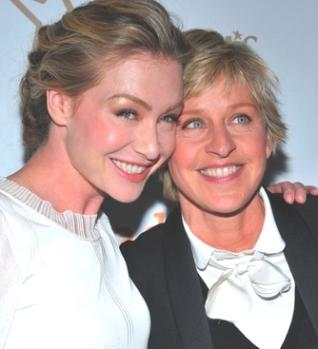 Se casaron Ellen DeGeneres y Portia de Rossi.
