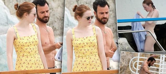 Emma Stone y Justin Theroux, ¿nueva pareja?
