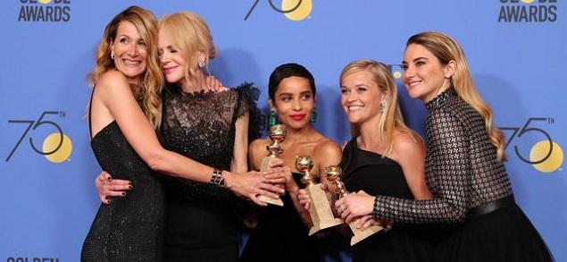 En los Golden Globe 2018 ganan las mujeres: del discurso de Oprah a las actrices vestidas de negro