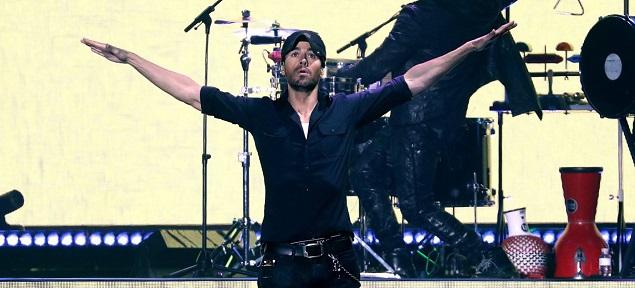 Enrique Iglesias arrasó en su concierto