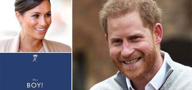 Es un niño: el príncipe Harry y Meghan Markle fueron finalmente padres