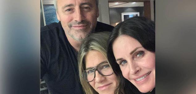 Friends: la foto de la mini reunión del cast enloquece a los fans