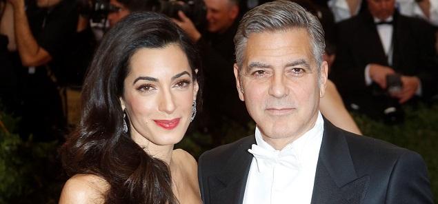 George Clooney papá?, Amal estaría embarazada de gemelos
