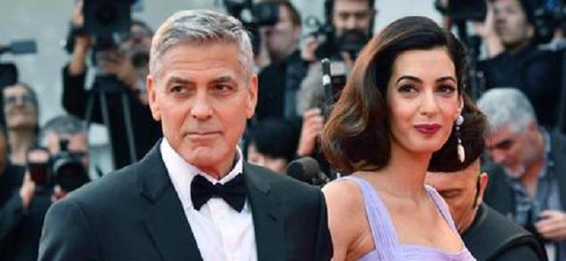 George y Amal Clooney 'adoptan' a estudiante Yazida huído del ISIS
