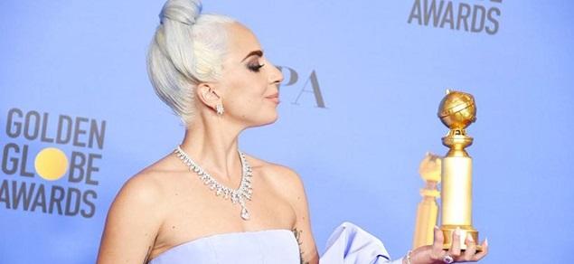 Golden Globe: el increíble collar de 5 millones de Lady Gaga