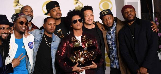 Grammy 2018: la noche de Bruno Mars