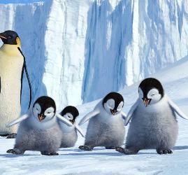 La segunda película de Happy Feet convoca a importantes actores.
