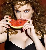 Christina Hendricks, la más sensual.