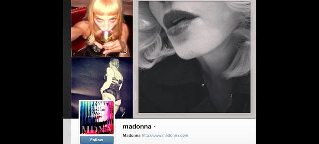 Instagram quiere cerrarle la cuenta a Madonna